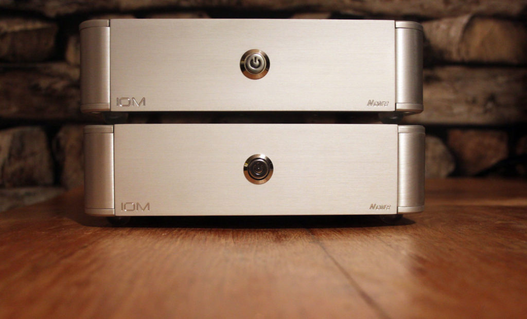 Pair of NCore Mono Amplifier - front