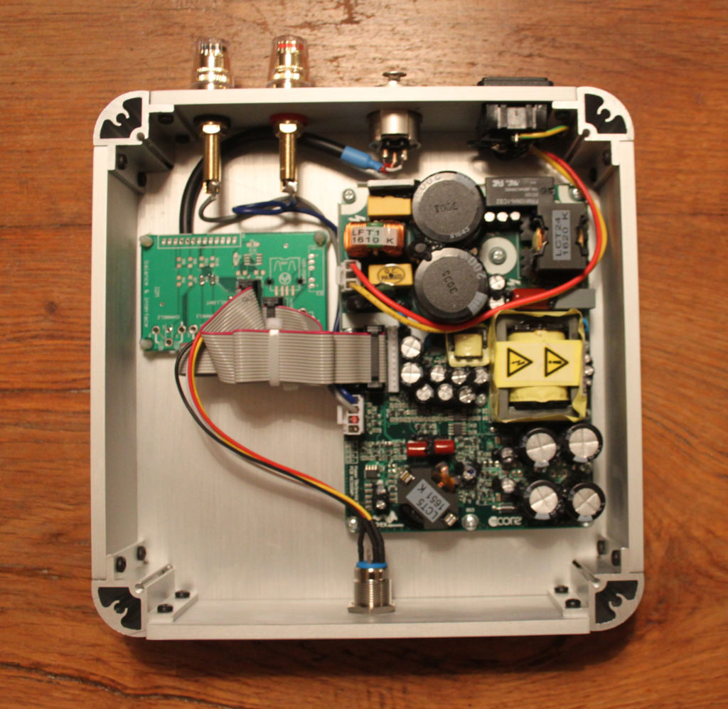 NCore Mono amplifier inside