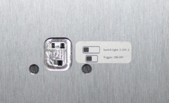 NC250MP detail bottom